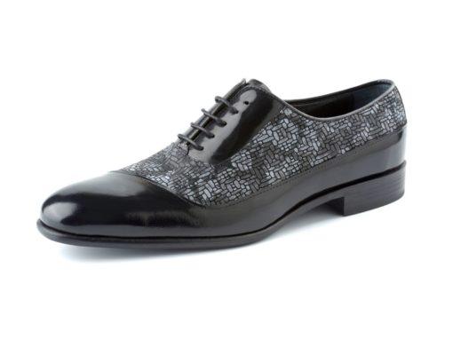 zapato brillo floral enzoromano