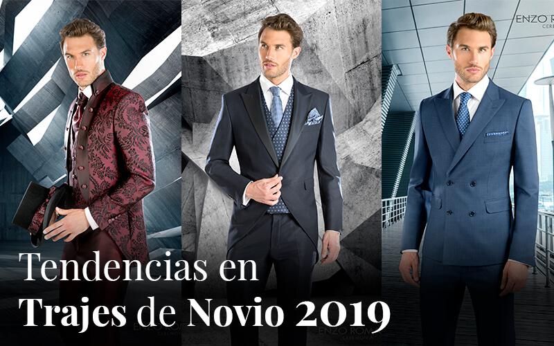 Tendencias para trajes de ceremonia en 2019