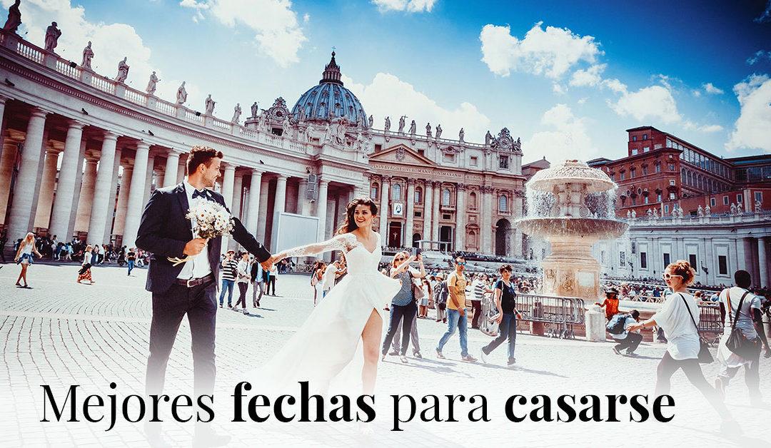 En Enzo Romano te explicamos cuáles son las mejores fechas para casarse